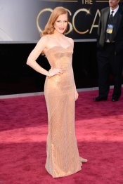 Jessica Chastain me lembrou a sensualidade de Jessica Rabbit - Rsrsrs. Amei demais!!