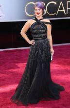 O pretinho nada básico de Kelly Osbourne também foi um dos mais bonitos na minha opinião. Mas o cabelo roxo já deu, né!!?